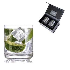 Gin and Tonic Crystal Glasses by Lunar Oceans, Set of 2, Luxury Gift £9 Prime £12.99 Sold by Lunar Oceans and Fulfilled by Amazon