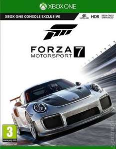 Forza Motorsport 7 (Xbox One - Used) - £13.67 at MusicMagpie