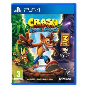 (PS4 - Used) Crash Bandicoot N.Sane Trilogy £16.10 delivered @ Music Magpie