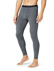 Thermals Men's Wool Mix Knit Base Layer Underwear Long Johns - Large £4.28 (XXL - £3.97) @ Amazon (add on item)