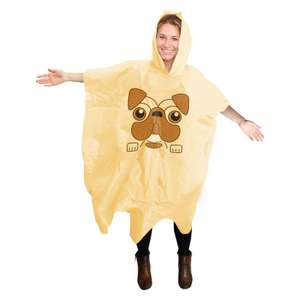 Pug Poncho £2.99 + £3.99 Delivery (£6.98) at Prezzybox