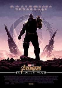 Odeon - Exclusive poster giveaway when you book to see Avengers: Infinity War
