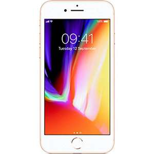 Apple iPhone 8 64GB - Gold - Unlocked £660 @ HDEW Extra via Amazon