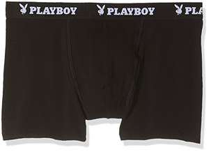 Playboy Men's Boys Short Pack Of 4 large £6.68 (add on item) @ Amazon