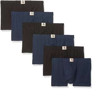 Amazon: ESPRIT Men's 107EF2T001 Boxer Shorts (Pack of 6) Size Medium @ £8.19 for Prime/£12.18 for Non-Prime