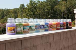 Large Jar Yankee Candles £10.99 + £1.99 delivery @ Groupon