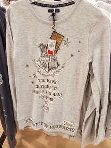 Harry potter tops from £3 instore at Leicester primark
