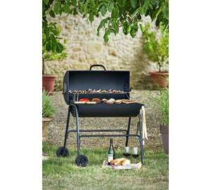 Charcoal Oil Drum BBQ Barbeque now £49.99 - £20 off @ Argos inc Cover and Utensils