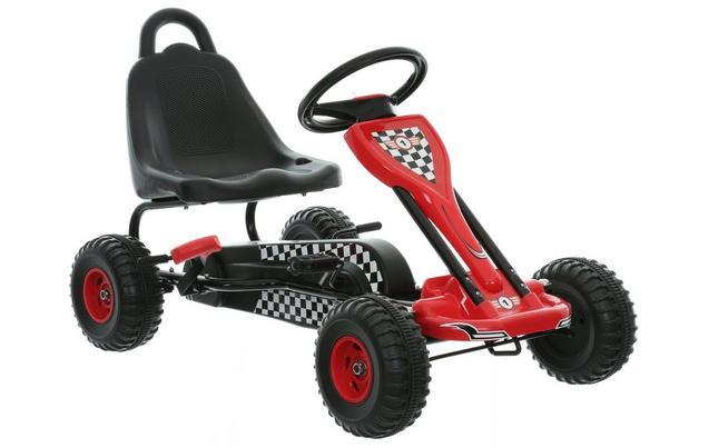 Kids Go Kart - Black & Red £35 C+C @ Halfords