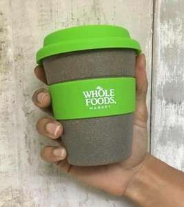 Free reusable cups in Whole Foods (only today, all London stores)