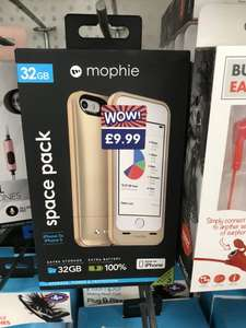 iPhone 5/SE Mophie Juice pack (Gold) with additional memory £9.99 @ B&M Paisley