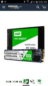Western Digital M.2 SSD 240Gb £55.98 @ Amazon