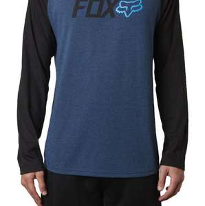 Fox Racing Warm Up Long Sleeve MTB Tech Tee (S, M, L) only £10.50 (+£2.99) free shipping over £12 spend @ CRC Chain Reaction