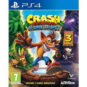 [PS4] Crash Bandicoot N' Sane Trilogy - £19.95 / Burnout Paradise Remastered - £22.95 - TheGameCollection