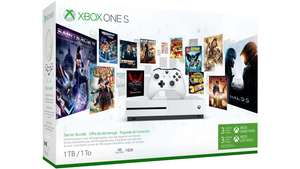 Xbox one s 500gb starter bundle £189.99  Special pricing for eligible students, parents and teachers at Microsoft Store
