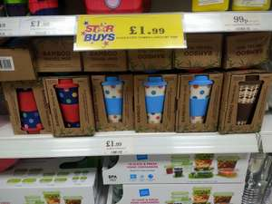 £1.99 for a bamboo coffee mug instore @ Home Bargains
