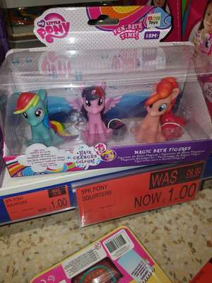 My little pony squirters Now £1 b&m park road Liverpool