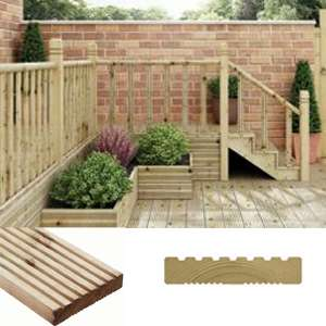 Wickes 4 Day deals - BOGOF Premium reversible treated deck boards + 10 Yr Guarantee - E.G - 28mm x 140mm x 2.4m at £9 / £4.50 each (More in OP)