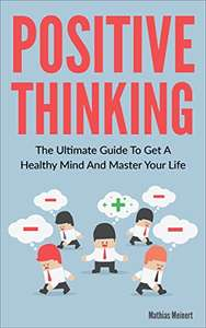 """Hot Ebook offer! Ebook """"Positive Thinking"""" is FREE on AMAZON KINDLE instead of 3,99"""