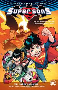 Comixology - Supersons Vol 1 digital collection £1.60 with code HERO