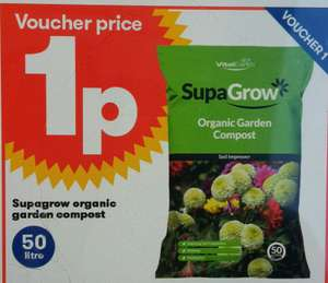 Organic multi-purpose compost 50l 1p @ JTF