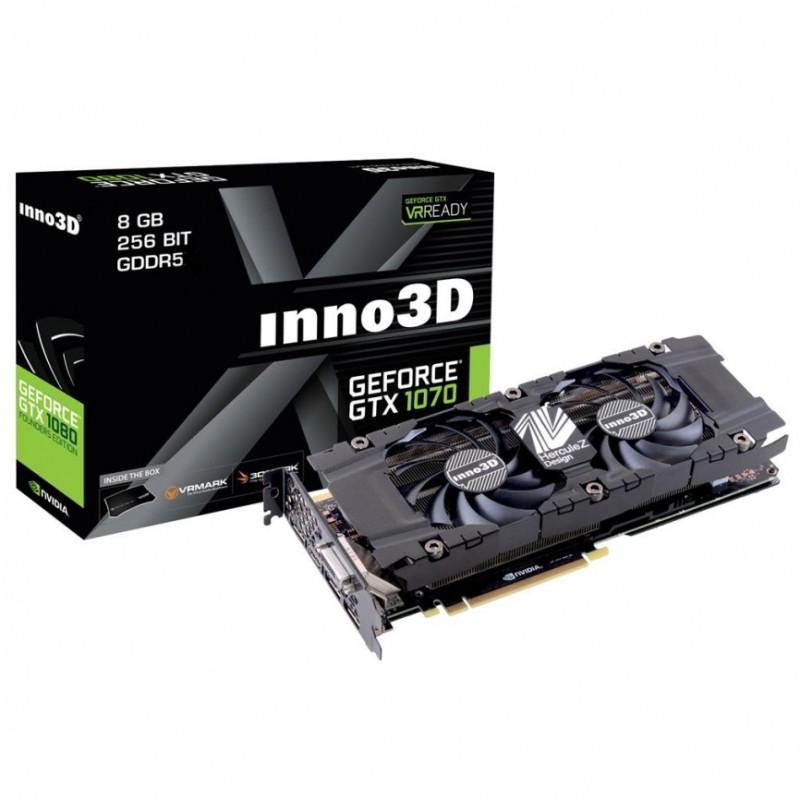 Inno3D GTX 1070 HerculeZ Twin X2 8GB @OCUK £389.98 delivered (379.99)