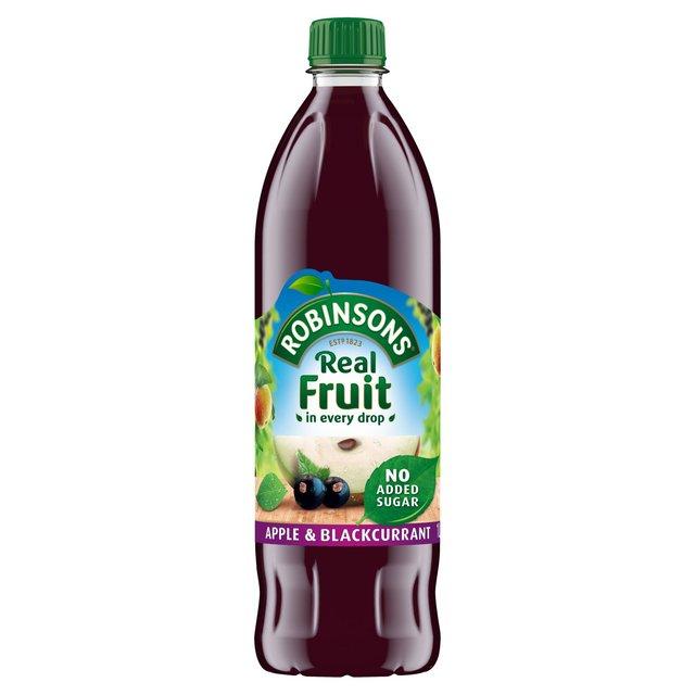 Robinsons No Added Sugar Apple & Blackcurrant Squash, £1 a litre bottle or 4-for-3 @ Morrisons