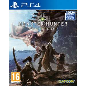 Monster Hunter World [PS4] £29.00 @ AO