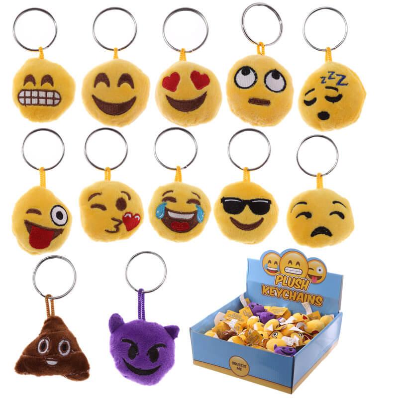 Emoji Plush Keychain With Sound £1.99 at Prezzybox - Delivery £3.99