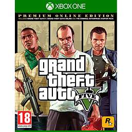 Grand Theft Auto V: Premium Online Edition [Xbox One/PS4] @ GAME / £59.99