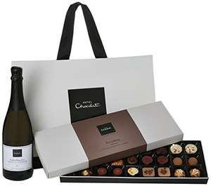Hotel Chocolat Chocolate and Prosecco Hamper £24.99 @ Amazon