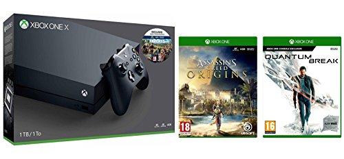 Xbox One X 1TB Far Cry 5 Bundle + Assassin's Creed Origins + Quantum Break £469.99 @ Amazon