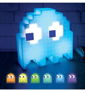 Pac-Man Colour Changing Ghost Light free click and collect £8 @ Asda
