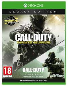 Call of Duty: Infinite Warfare Legacy Edition Xbox one £10 @TescoDirect