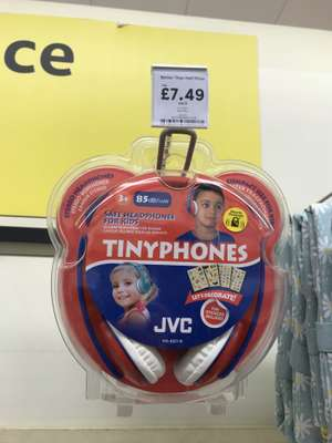 JVC Tiny Phones Headphones £7.49 instore @ Tesco Bury