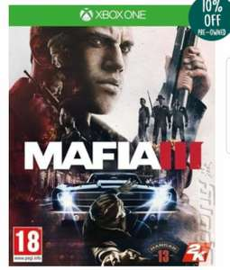 Used Mafia 3 for  Xbox one £6.20 from music magpie