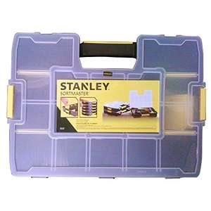 Stanley 194745 Sortmaster Organiser. £5 Prime £8.99 Non Prime Amazon. Free delivery on orders over £20