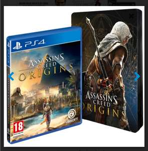Assassins creed origins game & steelbook PS4/XBOX ONE £31.99 @ 365games