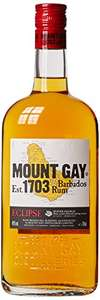 Mount Gay Eclipse Barbados Rum, 70cl £15 Prime Exclusive @ Amazon