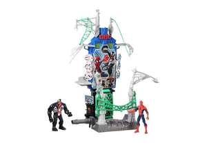 Spiderman Web city daily bugle battle action plays, was £44.99 now £15.99 at argos