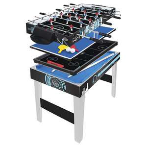 Hy-Pro 3ft 4-in-1 Multi Games Table Football Pool Tennis & Hockey £28.80 delivered @ Tesco eBay