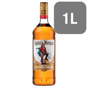 Captain Morgan Spiced Rum 1 litre £16 @ Tesco Online & In-Store