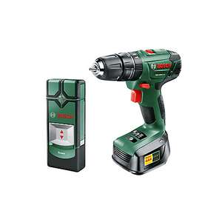 Bosch Cordless 18V 1.5Ah Drill & Truvo detector 2 batteries PSB1800 £75 at B&Q