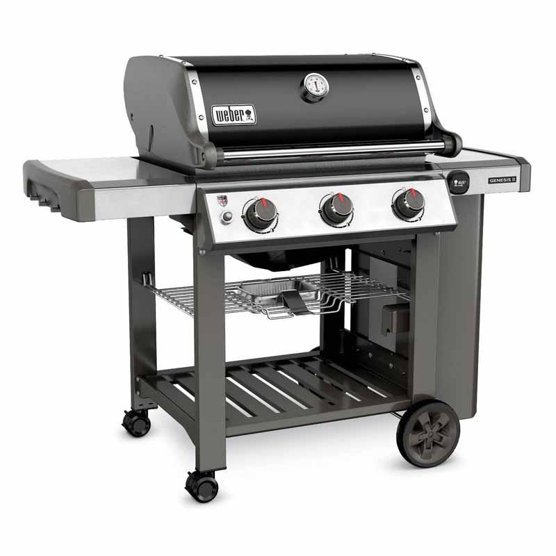 Weber Genesis II E-310 BBQ in Black or Smoke Grey - £639.20 for reward club members (£10 sign up) @ Dobbies