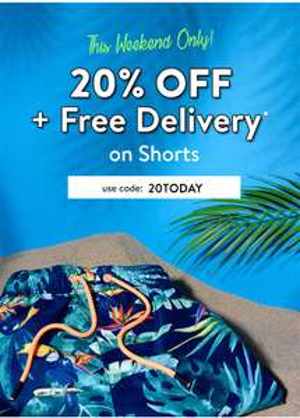 Tokyo Laundry shorts 20% off