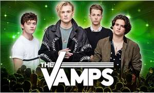 Up to 50% off the Vamps Tickets on 1 - 5 May 2018 at Four Locations at Groupon from £7.45