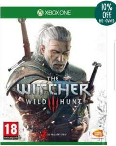 The witcher 3 Xbox one from music magpie (used) - £10.88 @ Music Mapgie