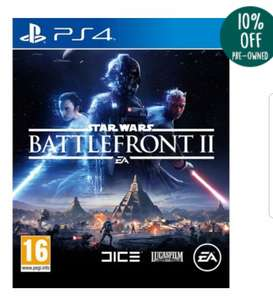 Star wars battlefront 2 for PS4 - £16.10 @ music magpie