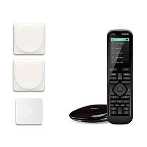 Logitech Smart Home Bundle, Harmony Elite & POP Switch - £189.99 @ Amazon
