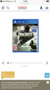 Call Of Duty Infinite Warfare Legacy Edition PS4 - £10 @ Tesco Direct